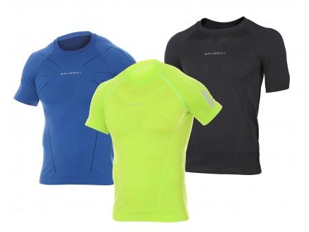 Brubeck Athletic Men koszulka termoaktywna z krótkim rękawem