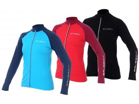 Brubeck Athletic damska termoaktywna bluza oddychająca