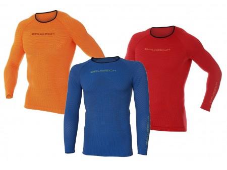 Brubeck PRO Run męska termoaktywna koszulka z długim rękawem