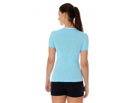 Brubeck PRO Run damska termoaktywna koszulka z krótkim rękawem