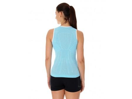 Brubeck PRO Run koszulka, damski termoaktywny bezrękawnik