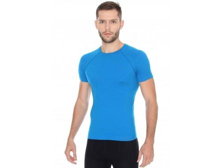 Brubeck Active Wool męska koszulka termoaktywna z krótkim rękawem