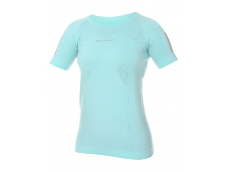 Brubeck Athletic damska koszulka termoaktywna kr. rękaw