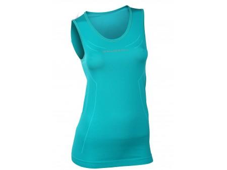 Brubeck Athletic damska koszulka termoaktywna bez rękawów