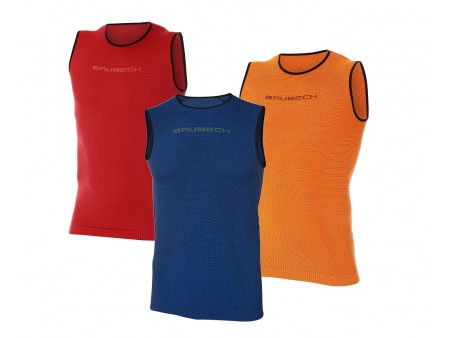 Brubeck PRO Run koszulka, męski termoaktywny bezrękawnik