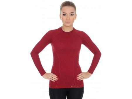 Brubeck Active Wool damska koszulka termoaktywna z długim rękawem