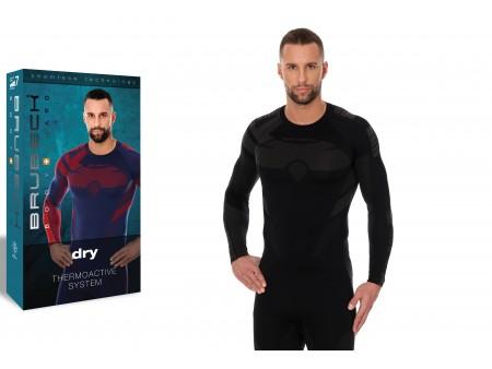 Brubeck Dry męska koszulka termoaktywna z długim rękawem