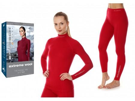 Brubeck Merino Wool damska bielizna termoaktywna