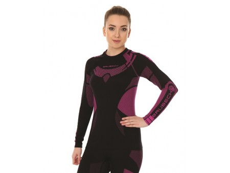 Brubeck Dry damska koszulka termoaktywna z długim rękawem